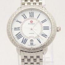 Michele Serein 16 Diamond & MOP Dial Ladies Watch MW21B01A...