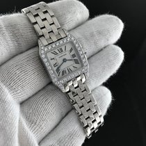 Cartier Panthere w/ Diamonds Quartz 18k White Gold - Watch Only