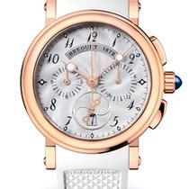 Breguet Brequet Marine 8827 18K Rose Gold Ladies Watch