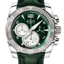 Parmigiani Fleurier Pershing Chronograph Stainless Steel &...
