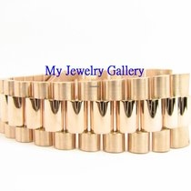 Rolex Aftermarket 18k Rose Gold Bracelet Band for Mens President