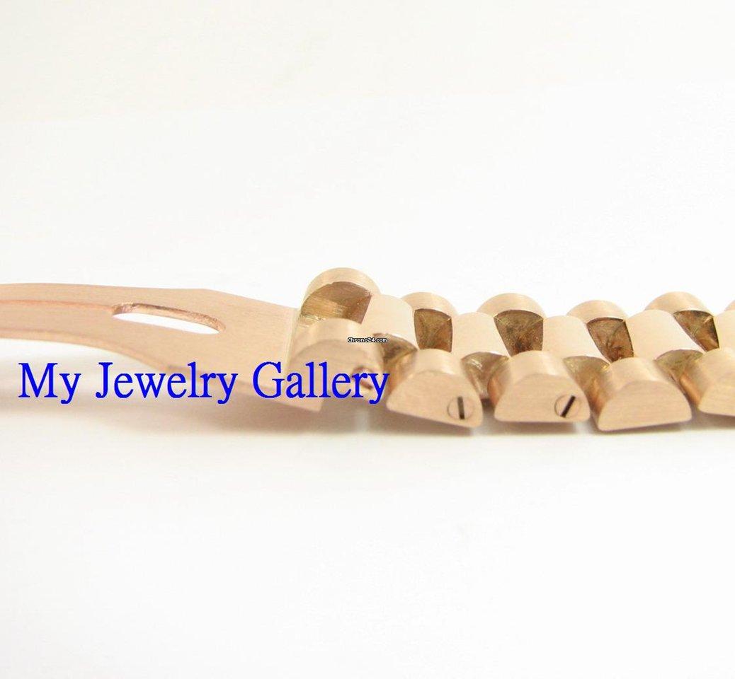 rolex aftermarket 18k gold bracelet band for mens