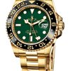 Rolex GMT MASTER II YELLOW GOLD GREEN