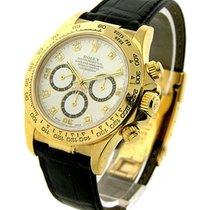 Rolex Used Yellow Gold Daytona on Strap 16518