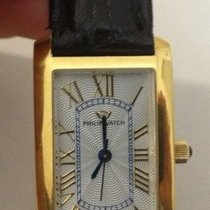 Philip Watch 3H Patton Tonne quarzo gold nuovo new nos