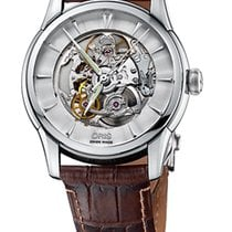 Oris Artelier Skeleton Crocodile Leather
