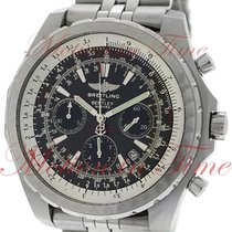 Breitling Bentley Motors T Chronograph, Black Dial - Stainless...