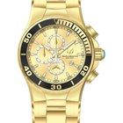 Technomarine Sea Manta Gold Dial Yellow Gold-Tone Stainless...