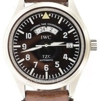 IWC Pilot Tzc Die Fliegeruhr Utc Iw3251-05 Automatic Black...
