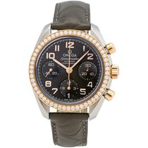 Omega Speedmaster Diamond Chronograph 38mm Ladies Watch –...