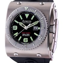 Azimuth Xtreme-1 Deep Diver Watch 2000m Wr Big Date 46mm Swiss...