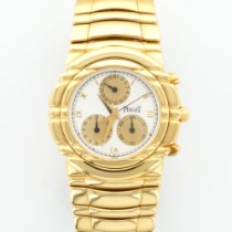 Piaget Yellow Gold Tanagra Chronograph Bracelet Watch