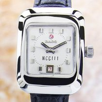 Rado Ncc 111 Ladies Vintage Very Rare Automatic Ss Watch Swiss...