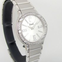 Piaget [NEW] Polo Silver Dial 18Kt White Gold Bracelet