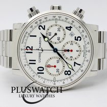Ulysse Nardin Marine Chronograph 40mm White Dial 353-88 2981