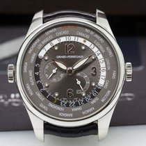 Girard Perregaux 49851 World Time WW.TC NYC Edition Gray Dial...