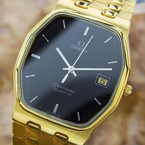 Omega Seamaster Gold Plated Precision Quartz Dress Watch C1980...