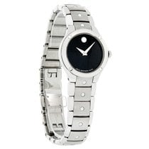 Movado S.E. Sports Edition Series Ladies Blk Dial Swiss Watch...