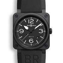 Bell & Ross Aviation Men's Watch BR0392-BL-CE
