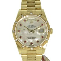 Rolex Day-Date President Yellow Gold Crown Collection