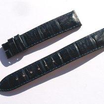 Hirsch Croco Band Crocoarmband 16mm Schwarz Black Strap 72/113...