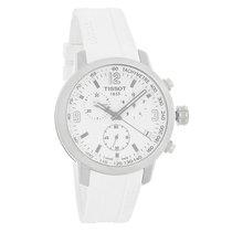 Tissot PRC 200 Mens Chrono White Quartz Watch T055.417.17.017.00