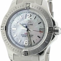 Breitling Colt 33 Mother of Pearl Dial Index Women Watch...