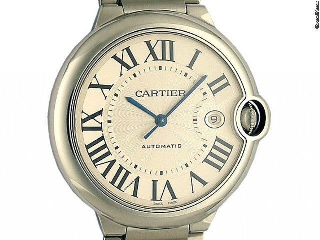 Cartier Ballon Bleu GM groes Modell 41mm