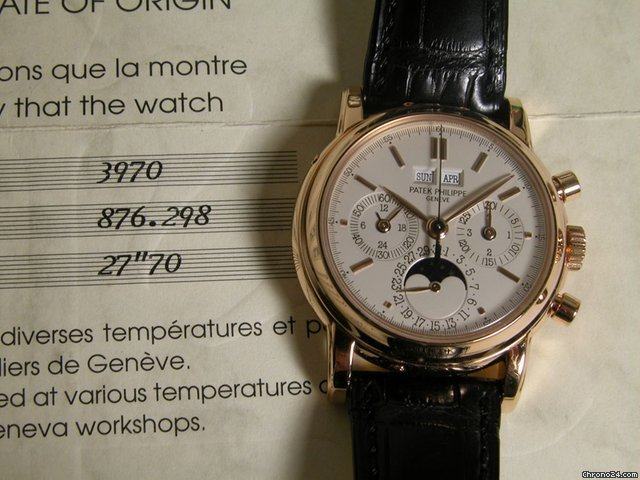 Patek Philippe 3970ER 2nd series Large Hallmarks