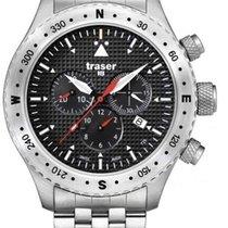 Traser H3 Aviator Jungmann Watch mit Edelstahlarmband T5302.25...