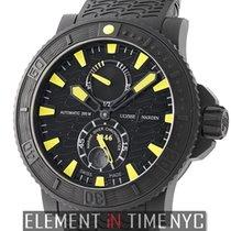 Ulysse Nardin Maxi Marine Diver Black Sea Rubber-Coated Steel...