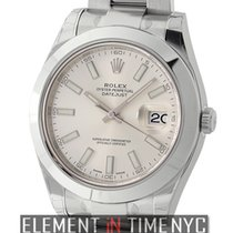 Rolex Datejust II Stainless Steel Silver Index Dial Ref. 116300