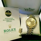 Rolex Datejust 16253 Thunderbird Two Tone Watch 36mm