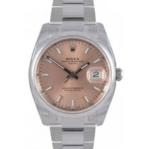 Rolex Oyster Perpetual 115200-PNKSDO 34mm Pink Index Domed...