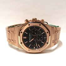 Audemars Piguet Royal Oak Automatic 41mm Chrono Black Pink...