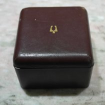 Bulova vintage leather watch box for accutron models