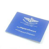 Breitling Manual Anleitung Vintage Transocean