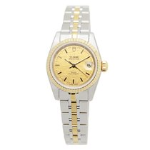 Tudor New  Heritage 18k Gold Steel Gold Automatic 92413-62433-...