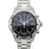 TAG Heuer Aquaracer Automatic Chronograph 41 Black Dial...