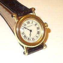 Cartier DIABLO 27mm 18K Solid Gold Roman Watch w/ Sapphires