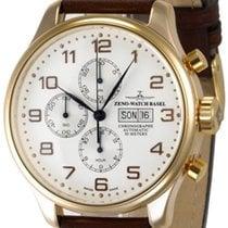 Zeno-Watch Basel -Watch Herrenuhr - OS Retro Chronograph...