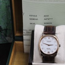 Rolex Cellini Danaos 4233 18K Rose Gold & White Gold