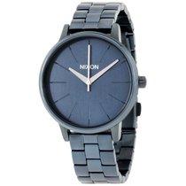 Nixon Damen-armbanduhr Kensington All Indigo Analog Quarz...