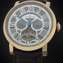 Cartier Rose Gold Rotonde Tourbillon Chronograph W1580032