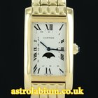 Cartier Tank Americaine Moon Phase 18K Yellow Gold
