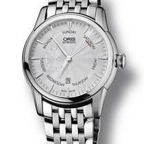 Oris Artelier Small Second Pointer Date NEU mit B+ P