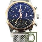 Breitling Transocean Chronograph steel gold black UB015212...