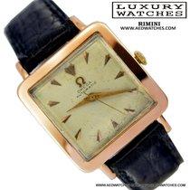 Omega Square Cioccolatone vintage oro rosa 18KT calibro 501...