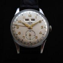 Enicar Full Calendar Medium Vintage Watch 50's