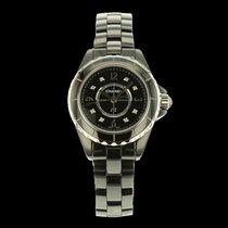 Chanel J12 Noire Céramique cadran diamants